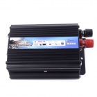HOT-A1-00007 500W Car Vehicle USB DC 12V to AC 220V Power Inverter Adapter Converter - Black
