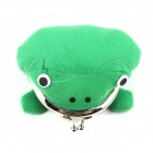 Creative Frog Wallet Toad Purse Zero Wallet - Green + Red