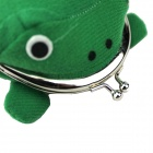 Frog Wallet Toad Purse Zero Wallet - Green