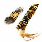 Tiger Skin Pattern Cat Pet Teasing Toys Set - Black + Multi-Color