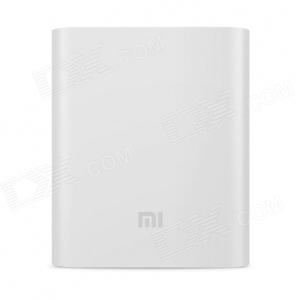 Genuine Xiaomi Protective Silicone Case for 10400mAh Power Bank - White
