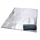 HARLEM Outdoor Moisture-proof Double-sided Aluminum Film Picnic Pad Mat - Silver