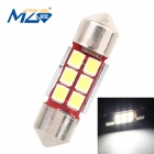 MZ 3W 31mm 6 x 2835 SMD 300lm Canbus Error-Free LED Car Reading Lamp / Roof Light (12~18V)