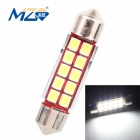 MZ Festoon 39mm 5W LED Car Reading Lamp White Light 6500K 500lm SMD 2835 Canbus Error-Free (12~18V)