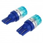 T10 0.5W 450nm 60lm Blue Car Lamp (12V / 2PCS)