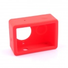 PANNOVO G-848 Silicone Shell Case for XIAOMI Xiaoyi - Red (M)