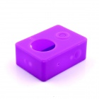 PANNOVO G-848 Silicone Shell Case for XIAOMI Xiaoyi - Purple (M)
