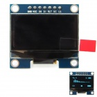 "1.3"" 128 x 64 SPI Interface Blue Color OLED Display Module for Arduino / RPi / STM32"