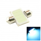 HONSCO Festoon 31mm 3W 495nm 200lm Blue Car Lamp (DC 12V)