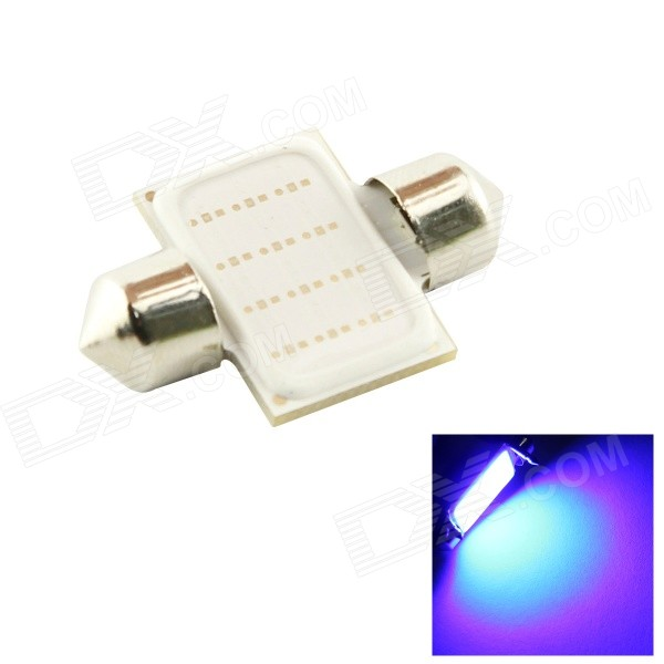 HONSCO Festoon 31mm 3W COB Blue 490nm 200lm Car Lamp (DC 12V)