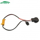 Car 3156 Error Canceller with 50W 8ohm Resistor - Golden + Black