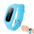 "SH04 0,91 ""Bluetooth Smart-Armband w / Activity Tracker / Sleep-Monitoring / Call Reminder - Blau"