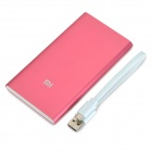 Xiaomi NDY-02-AM 5000mAh USB Power Bank w / LED indikátor - sytě růžová