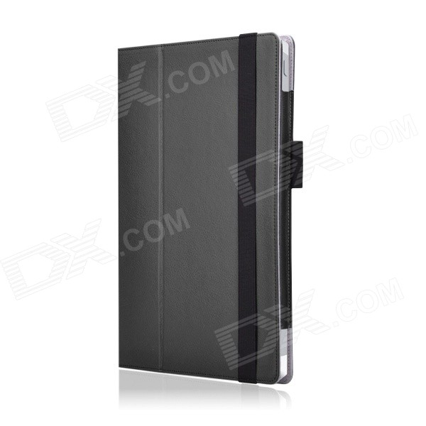 Multi-Function Protective PU Case w/ Stand for Microsoft Surface 3 - Black (Presale)