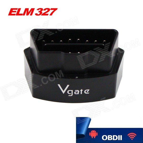 Vgate iCar3 ELM327 Wi-Fi OBDII Code Scanner Tool - BlackCode Readers and Scan Tools<br>Form  ColorBlackModeliCar3Quantity1 DX.PCM.Model.AttributeModel.UnitMaterialABSScreen SizeN/A DX.PCM.Model.AttributeModel.UnitVersionOthers,iCar3C standard Wi-Fi connectionFunctionRead trouble codes,Check Engine Light (MIL)Readparam Engine RPM,Coolant Temperature,Vehicle SpeedWireless BluetoothNoTransmit DistanceN/A DX.PCM.Model.AttributeModel.UnitDiagnose Interface16pinSupported LanguagesEnglishSmartphone Brand SupportedIPHONE,Samsung,LGApplication SupportedNotebook,PC,SmartphoneSoftware Platform SupportedAndroid,Others,IOSProtocols SupportedISO15765-4 (CAN),ISO14230-4 (KWP2000),ISO9141-2,J1850 VPW,J1850 PWMOutput ProtocolWi-FiIndicator LEDsOBD transmitBaud Rate38400 DX.PCM.Model.AttributeModel.UnitCompatible MakeOthers,Cars support protocolWorking Voltage   12 DX.PCM.Model.AttributeModel.UnitWorking Current100 DX.PCM.Model.AttributeModel.UnitCable LengthN/A DX.PCM.Model.AttributeModel.UnitOther FeaturesWi-Fi receiving distance: 20~50mPacking List1 x iCar3C OBD tester (Wi-Fi version)1 x CD1 x English manual<br>
