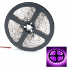 HML Non-Waterproof 36W 420nm 300 x 3528 SMD LED Pink / Purple Light Strip (12V / 5M)