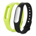 Xiaomi Waterproof Bluetooth V4.0 Sports Smart Bracelet w/ Silicone Wristband - Black + Green