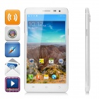 "V3 MTK6582 Android 4.4 Quad Core 3G Phone w/ 5.5"" QHD, 4GB ROM, 8.0MP + 2.0MP - White"