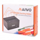 "MAIWO K208 USB 3.0 SATA Serial Port Docking Station for 2.5"" - Black"