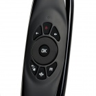 2.4GHz Wireless Air Mouse + Keyboard Remote Control - Black