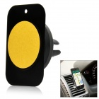 Universal Car Magnetic Air Vent Mount Clip Holder Dock for IPHONE / GPS / Tablet + More - Black