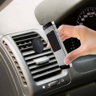 Car Magnetic Air Vent Mount Clip Holder Dock for GPS / Tablet - Black