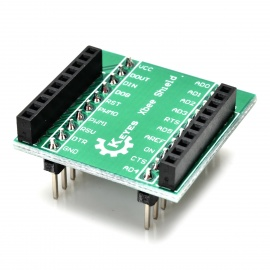 Keyes 20-Pin Adapter Board for Xbee Shield - Green + Black