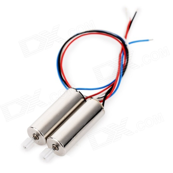 Replacement R/C Quadcopter CW & CCW Motors for Syma X5 - Silver