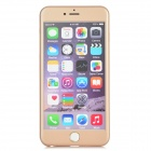 Protective Front + Back Case w/ Tempered Glass Screen Guard for IPHONE 6 PLUS - Golden