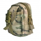 Multifunctional Water-resistant Nylon Waist Bag - Forest Camouflage