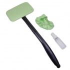 Car Windshield Glass Cleaner Wiper - Green + Black
