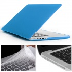 "Mr.northjoe 3-in-1 PC Matte Case + Keyboard Cover + Dust Plugs for RETINA MACBOOK PRO 13.3"" - Blue"