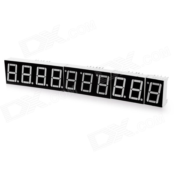 "0.56"" 1~4 Digit Common Cathode Seven-Segment Display Tubes - Black + White"
