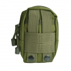Outdoor Multi-functional Water-resistant Nylon Waist Bag - Army Green
