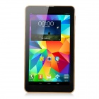 "7"" dual-core Android Tablet PC 3G / 1 Go de RAM, ROM de 8 Go - noir + or"
