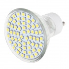 GU10 7.5W LED Spotlight Warm White 3000K 570lm SMD 3528 - Silver + White (110~240V)