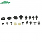 CARKING Car Door Clip Fastener Rivet for NISSAN D1 (408PCS) - Black