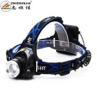 ZHISHUNJIA XQ19-4AA 800lm Cool White 3-Mode XM-L2 T6 LED Zooming Headlamp Headlight ( 4 x AA)