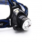 ZHISHUNJIA XQ19-4AA 800lm White 3-Mode XM-L2 T6 LED Zooming Headlamp