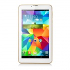 "7"" IPS Dual-Core Android 4.2 3G Tablet PC w/ 8GB ROM, Dual SIM, Wi-Fi, BT - White + Golden (EU Plug)"
