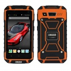 "iMAN i6800 Android 4.4 MTK6582 Quad Core Waterproof 3G Phone w/ 4.7""HD, 8GB ROM, 8.0MP, GPS - Orange"