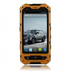 "A8 MT6572 Shockproof Dual Core 1.3GHz WCDMA Phone w/ 4.0"" Screen, 4GB ROM, WiFi, GPS, Bluetooth, FM"