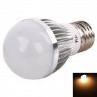 WaLangTing E27 5W 15-LED 350lm 3200K Warm White LED Light - Silver + White (220~240V)