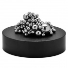 Creative Magnetic Balls Building Educational Toy Set - Black + Silver