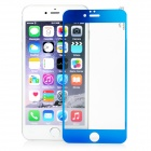 FineSource Electroplating Tempered Glass Screen Protector Guard for IPHONE 6 PLUS - Blue