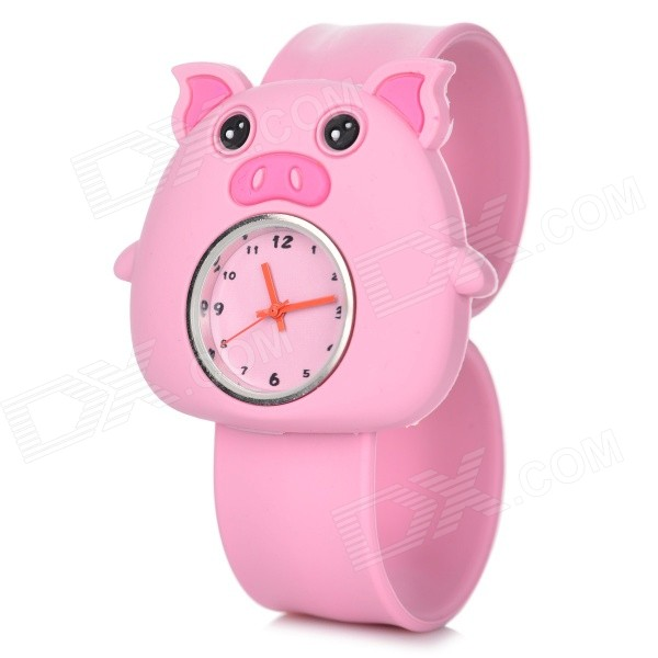 Childrens Cute Silicone Band Quartz Analog Watch - Pink (1*377)Children Watches<br>Form  ColorPinkQuantity1 DX.PCM.Model.AttributeModel.UnitShade Of ColorPinkCasing MaterialZinc alloyWristband MaterialSiliconeSuitable forChildrenGenderUnisexStyleWrist WatchTypeCasual watchesDisplayAnalogMovementQuartzDisplay Format12 hour formatWater ResistantFor daily wear. Suitable for everyday use. Wearable while water is being splashed but not under any pressure.Dial Diameter5 DX.PCM.Model.AttributeModel.UnitDial Thickness1.3 DX.PCM.Model.AttributeModel.UnitBand Width2 DX.PCM.Model.AttributeModel.UnitWristband Length22.7 DX.PCM.Model.AttributeModel.UnitBattery1 x 377Packing List1 x Watch<br>