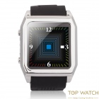 "TOP WATCH TW530D Waterproof 1.54"" Capacitive Touch Screen MTK6260 GSM Watch Phone - Black"
