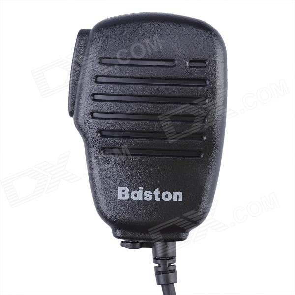 Baiston BST-008 Handheld microfoon voor Walkie Talkie - zwart