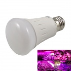 E27 7W LED Plant Growth Lamp Purple Light 450nm 650lm - White (AC 85~265V)