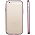 USAMS IP6QY04 Protective PC + TPU Back Case for IPHONE 6 - Pink + Transparent
